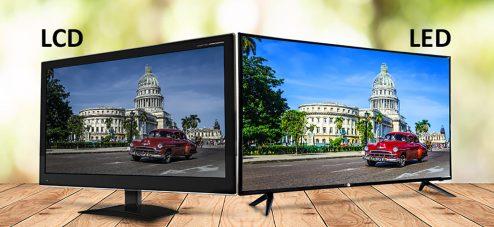 تفاوت تلویزیون LED و LCD در چیست؟