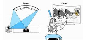تلویزیون تخت یا منحنی ؟ مزایا و معایب تلویزیون های منحنی